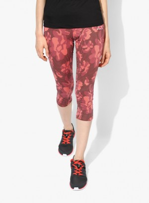 Buy  Kappa Orange Printed Capri Online