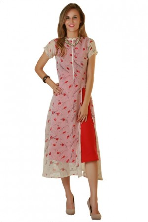 Buy Digital Duniya ki Digital Fancy Printed Lips_Loag Kurti Online