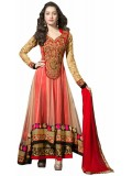 Giftsnfriends Georgette Embroidered Salwar Suit Dupatta Material