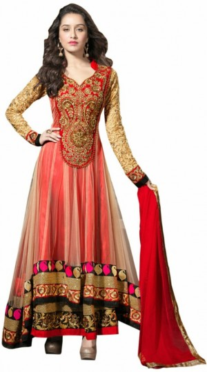 Buy Giftsnfriends Georgette Embroidered Salwar Suit Dupatta Material Online