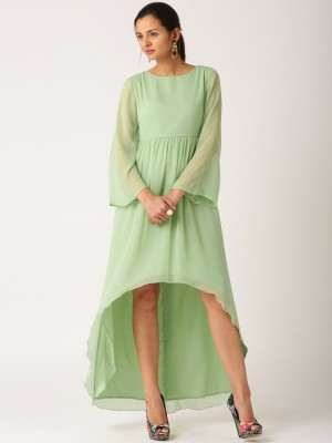 Buy  All About You Womens A line Green Dress Online