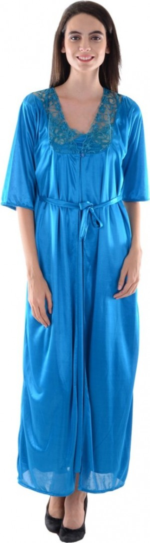 Buy  Dillidil Womens Nighty with Robe Online
