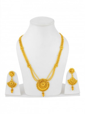 Buy The Swarna Collection Necklace Set NEC159 Online