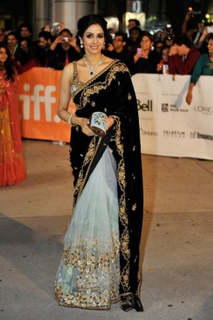 Buy Sridevi Toronto  Bollywood Replica Saree Online