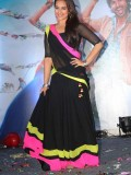 Sonakshi Black RRajkumar Laheng Bollywood Replica Saree