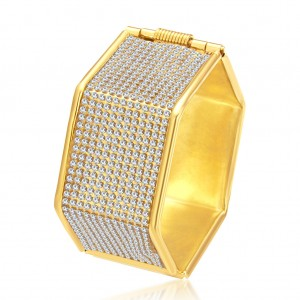 Buy Sukkhi Ritzy Gold Plated AD Kada For Women Online