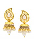 Sukkhi Gleaming Jhumki Gold Plated Earring For Women