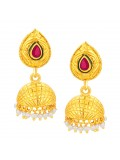 Sukkhi Glistening Jhumki Gold Plated Earring For Women