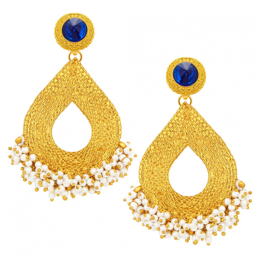 Buy Sukkhi Creative Gold Plated Earring For Women Online