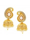 Sukkhi Sleek Jhumki Gold Plated Earring For Women