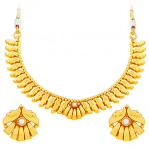 Buy Sukkhi Fancy Gold Plated Necklace Set For Women Online