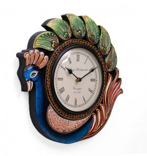 Buy  Collectible India Analog 33 cm Dia Wall Clock Online