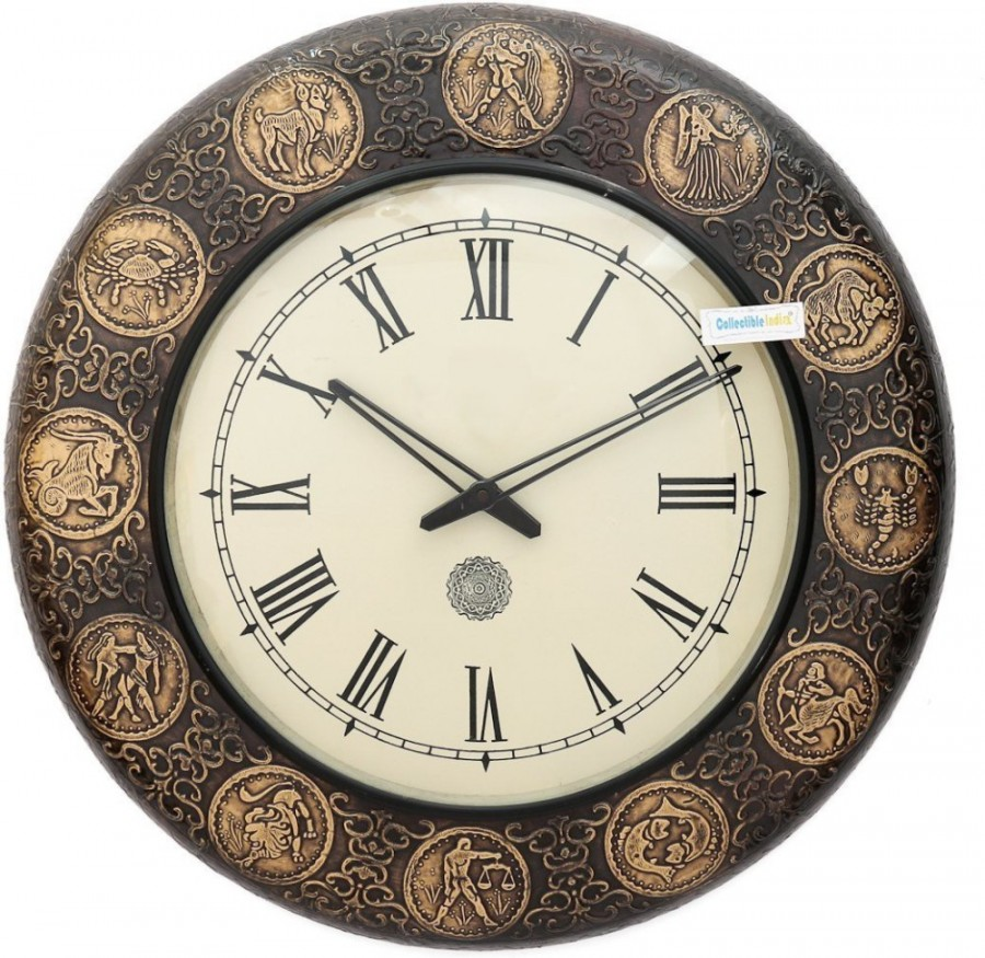 Purchase Online Collectible India Analog Wall Clock 519514
