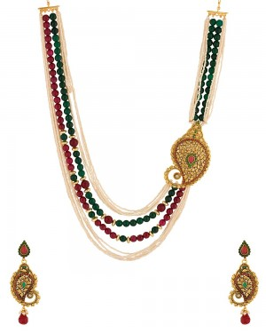 Buy  SOPHISTICATED TRADITIONAL NECKLACE SET Online