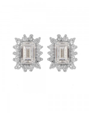 Buy CZ ADORNED STERLING SILVER STUDS Online