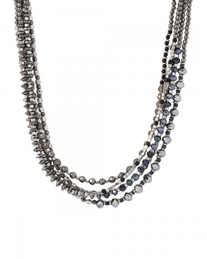 Buy QUAINT BEADED THEME MULTI-LAYERED NECKLACE Online