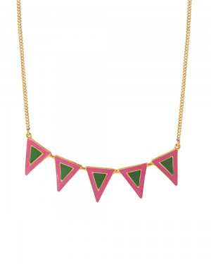Buy  BEAUTIFULLY ENAMELED NECKLACE FOR WOMEN Online