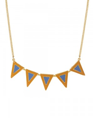 Buy  GOLD-TONE BEAUTIFULLY ENAMELED NECKLACE Online
