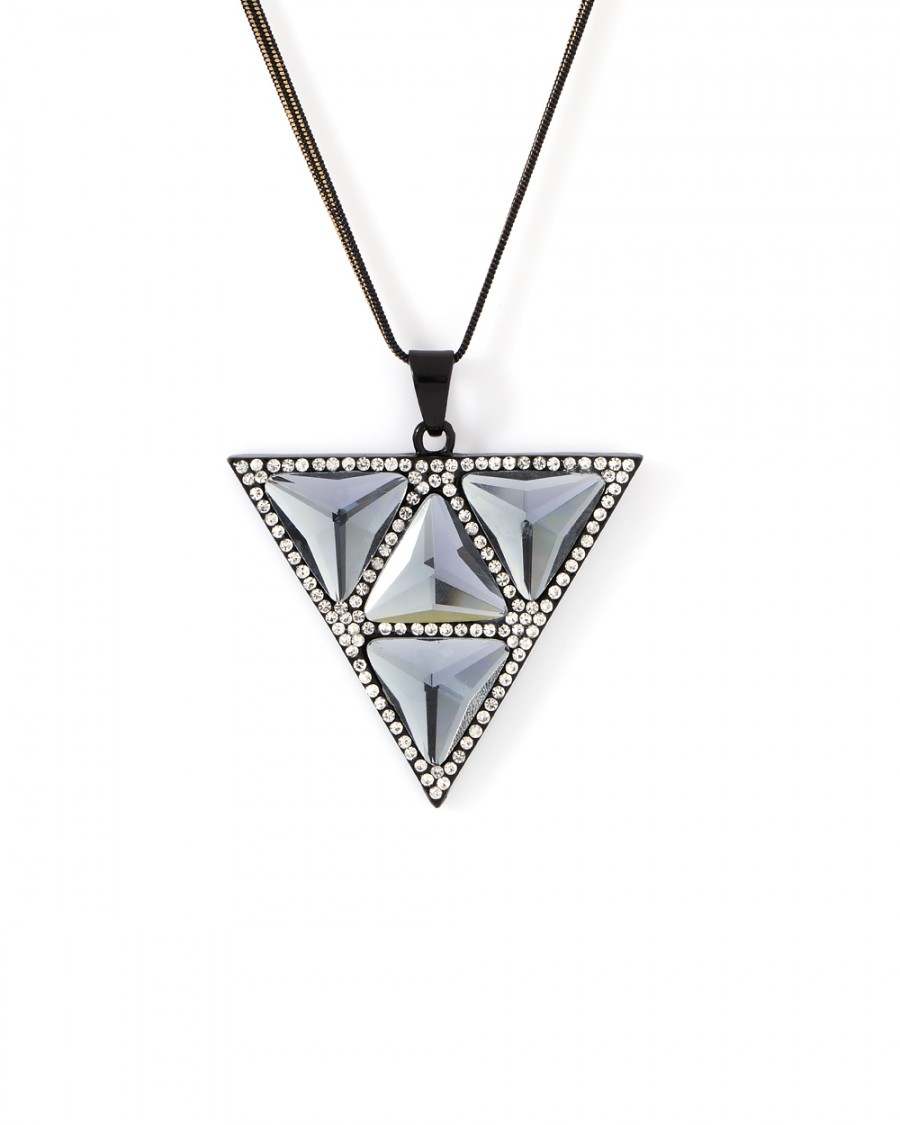 silver making pendant wholesale necklaces jewelry for necklace pcs turquoise heart triangular product finding mosaic