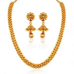 Buy Timeless Gold plated contemporary set Online