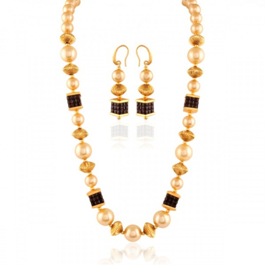 Buy Class Apart Gold plated contemporary set Online