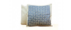 Buy  Flowers and Petals  Silk Cushion Cover  Grey Online