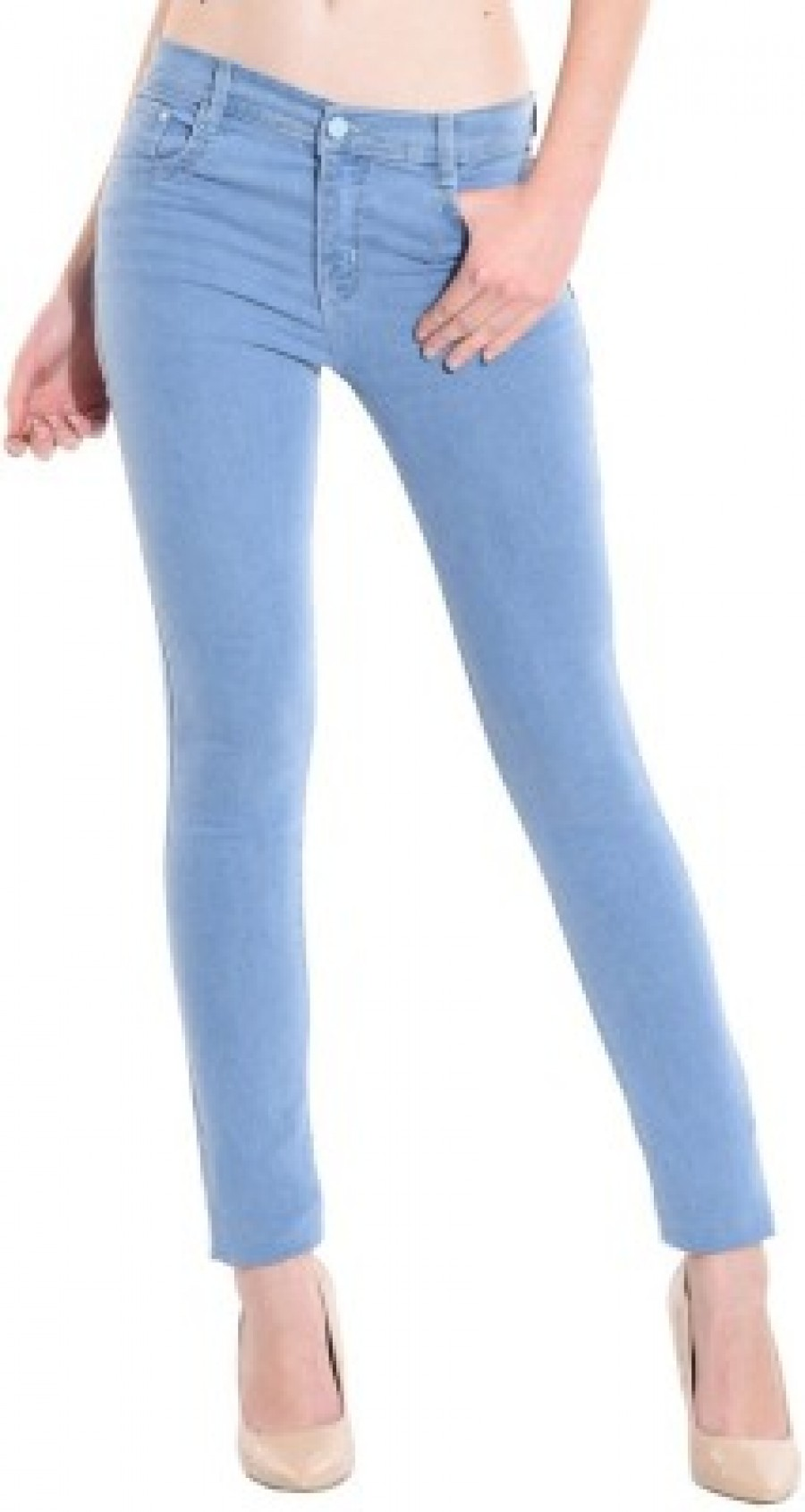 Online Shopping Ansh Fashion Wear Slim Fit Womens Blue Jeans | 524262