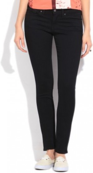 Buy Levis Skinny Fit Fit Womens Black Jeans Online