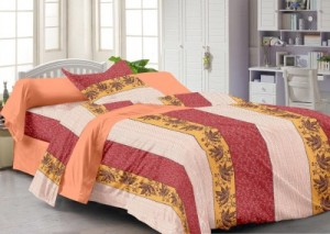 Buy Story  Home Cotton Abstract Single Bedsheet Online