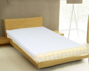Buy Milano Home Cotton Embroidered Single Bedsheet Online