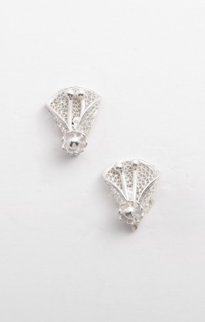 Buy Filigree Sava Collection Floral Studs Online