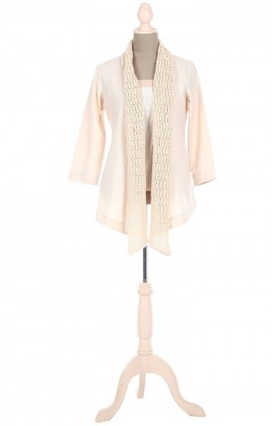 Buy Crochet Panel Long Shrug Online