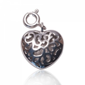 Buy PERSONALISED HEART MESSAGE CHARM Online