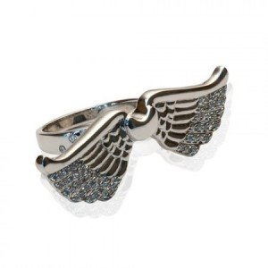 Buy WINGED HEART RING Online