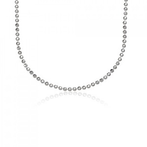 Buy STERLING SILVER LARGE BEAD CHAIN 18 Online