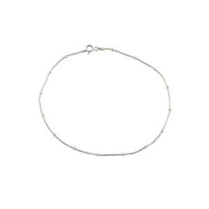 Buy SINGLE KNOT SNAKE CHAIN ANKLET Online