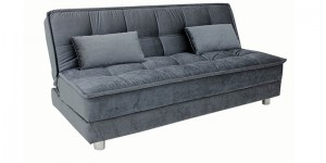 Buy Gaiety luxurious Sofa bed with Sunrise fabrics in Grey colour by Furny Online