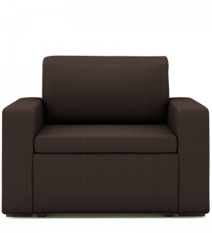 Buy Morris One Seater Sofa Lounge in Coffee Colour by ARRA Online