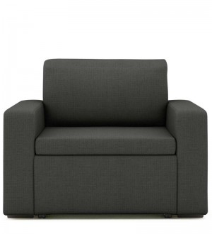 Buy Morris One Seater Sofa Lounge in Royal Grey Colour by ARRA Online