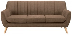 Buy San Pio Three Seater Sofa in Coyote Colour by CasaCraft Online