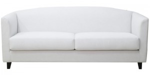 Buy Florianopolis Three Seater Sofa in Pearl White Colour by CasaCraft Online