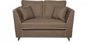 Buy Carmelo Two Seater Sofa in Dark Brown Colour by Urban Living Online