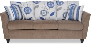 Buy Urban Living Solid Wood 3 Seater Sofa Online