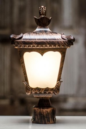 Buy CLASSIC GATE LIGHT IN ANTIQUE COPPER FINISH Online