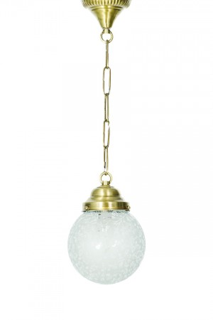 Buy ETCHED GLOBE CEILING HANGING LIGHT Online
