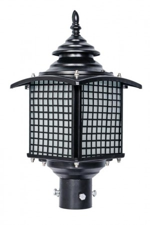 Buy OLD FASHIONED CASUAL OUTDOOR POLE LIGHT GATE LIGHT Online