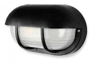 Buy CLASSIC ROUNDED BLACK OUTDOOR BULKHEAD LIGHT Online