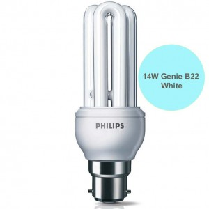 Buy 14 WATT PHILIPS GENIE COOL DAYLIGHT B22 CFL Online