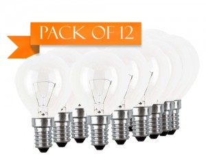 Buy 12 PACK OSRAM 40 W E14 ROUND CLEAR BULB Online