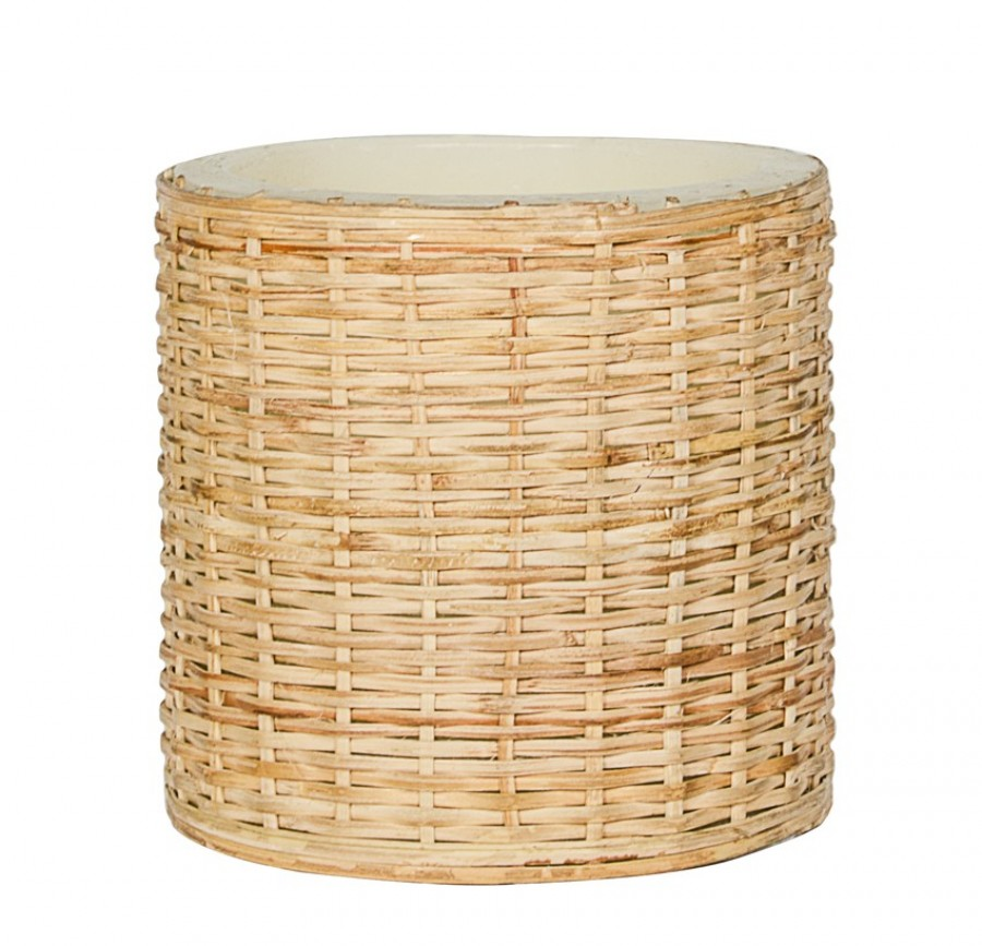 Buy 4X4 WOVEN CANE PILLAR CANDLE Online
